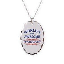 World's Most Awesome Psychologist Necklace