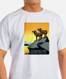 National Parks: Preserve Wild Life T-Shirt