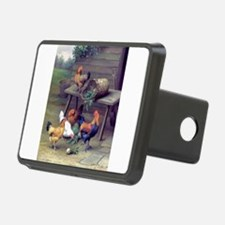 Cool Birds rooster Hitch Cover