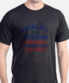 World's Most Awesome Pharmacy Tech T-Shirt