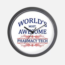 World's Most Awesome Pharmacy Tech Wall Clock