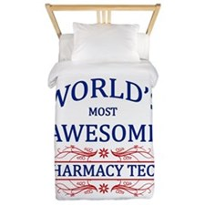 World's Most Awesome Pharmacy Tech Twin Duvet