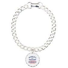 World's Most Awesome Pharmacist Charm Bracelet, On