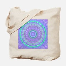 Funky Fresh Purple Mandala Tote Bag