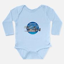 Moonlight V-22 Long Sleeve Infant Bodysuit