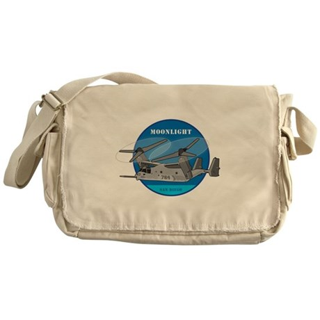 Moonlight V-22 Messenger Bag