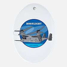 Moonlight V-22 Ornament (Oval)