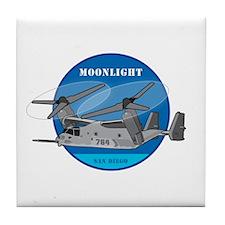 Moonlight V-22 Tile Coaster