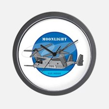 Moonlight V-22 Wall Clock