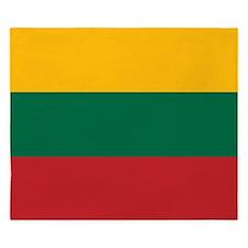 Flag of Lithuania King Duvet