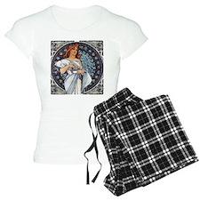 Mucha art deco Pajamas