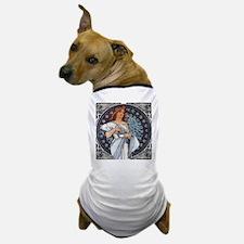 Mucha art deco Dog T-Shirt