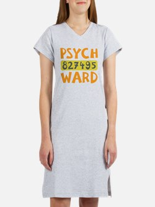 Psych Ward Inmate Women's Nightshirt