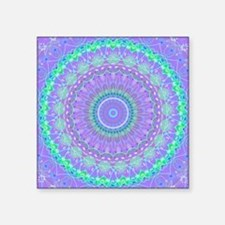 Funky Fresh Purple Mandala Sticker