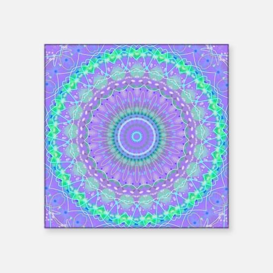 Funky Fresh Purple Mandala Sticker