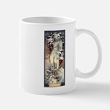 Mucha Winter Art Nouveau Small Small Mug