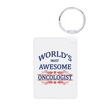 World's Most Awesome Oncologist Keychains