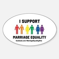 I Support Marriage Equality Decal
