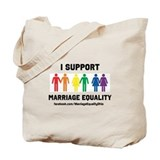 Marriage equality Canvas Bags