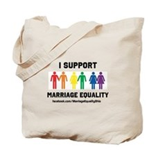 I Support Marriage Equality Tote Bag