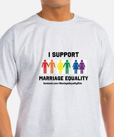 I Support Marriage Equality T-Shirt