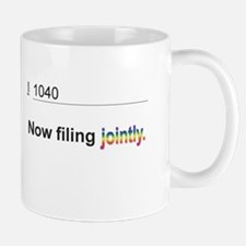 Married, Filing Jointly--Pride 2013 T-shirt Mug