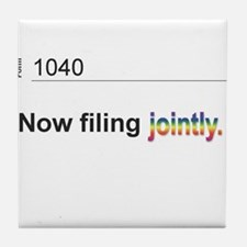 Married, Filing Jointly--Pride 2013 T-shirt Tile C