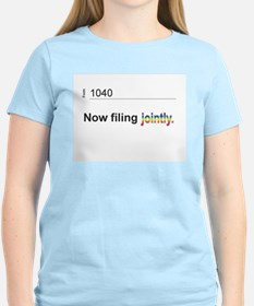 Married, Filing Jointly--Pride 2013 T-shirt T-Shir