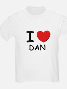 I love Dan Kids T-Shirt