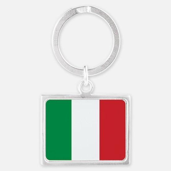 Italian Flag Keychains