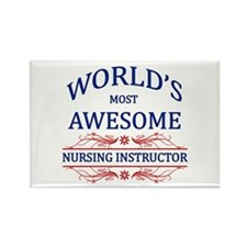 World's Most Awesome Nursing Instructor Rectangle