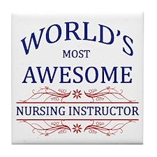 World's Most Awesome Nursing Instructor Tile Coast