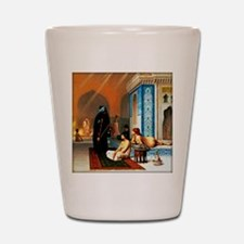 Gerome - Pool in a Harem Shot Glass