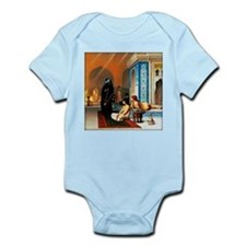 Gerome - Pool in a Harem Infant Bodysuit