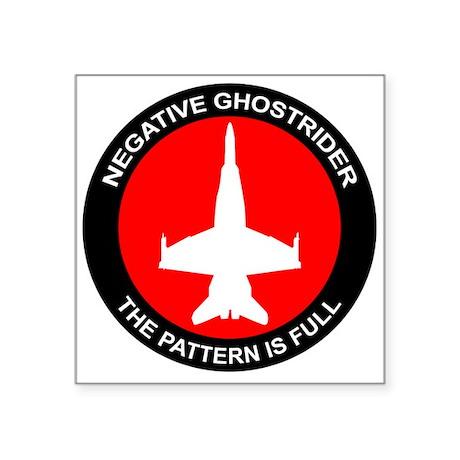 Negative Ghostrider The Patte Sticker