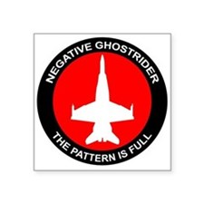 Negative Ghostrider The Patte Sticker