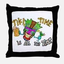 Tike Time is all the Time Throw Pillow