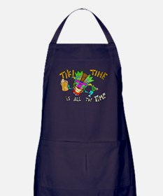 Tike Time is all the Time Apron (dark)