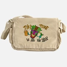 Tike Time is all the Time Messenger Bag