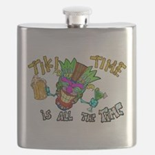 Tike Time is all the Time Flask