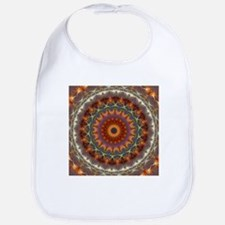 Natural Earth Mandala Bib