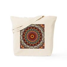 Natural Earth Mandala Tote Bag