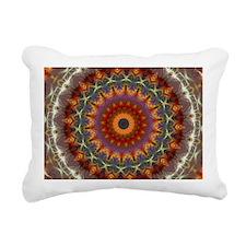 Natural Earth Mandala Rectangular Canvas Pillow