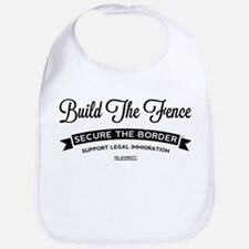 Build The Fence Bib