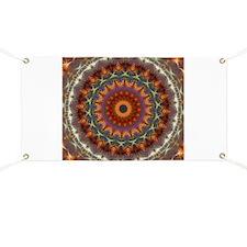 Natural Earth Mandala Banner