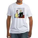 Video Game Realism Fitted T-Shirt