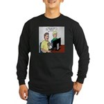 Video Game Realism Long Sleeve Dark T-Shirt