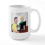 Video Game Realism Large Mug