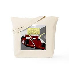Racing GPS Tote Bag