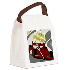 Racing GPS Canvas Lunch Bag